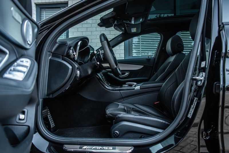 Mercedes-Benz C-Klasse 63 AMG, 476 PK, Pano/Dak, Distronic, Night/Pakket, Burmester, LED, Keyless, 30DKM, Nieuwstaat, BTW!! afbeelding 6
