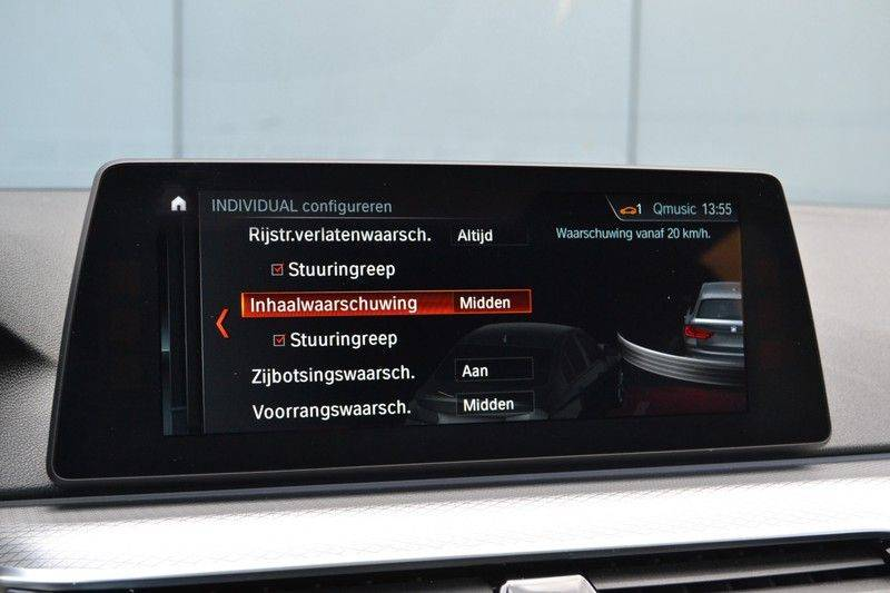 BMW 5 Serie Touring M550d xDrive 400pk Pano Standk ACC 20inch Adp-LED HUD afbeelding 24