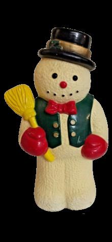 Snowman Light Topper photo