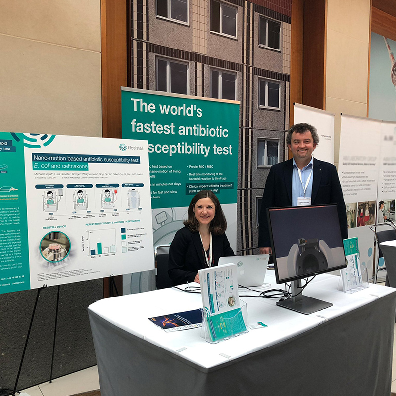 Resistell presented the science behind the rapid AST method during the AMR Berlin 2019 conference