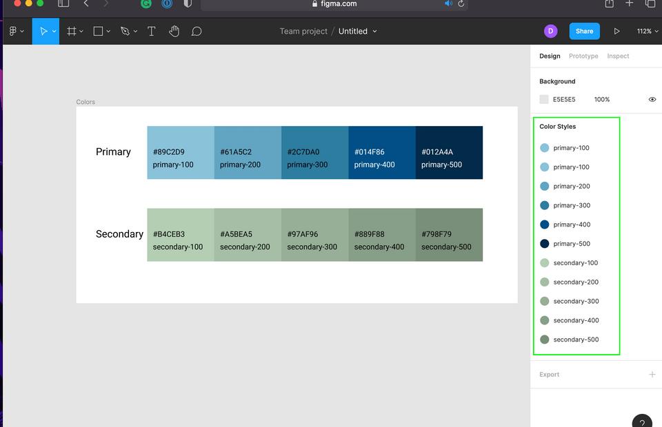Welcome, Developer - Figma Colors