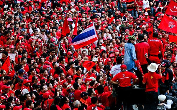 Thai demonstration