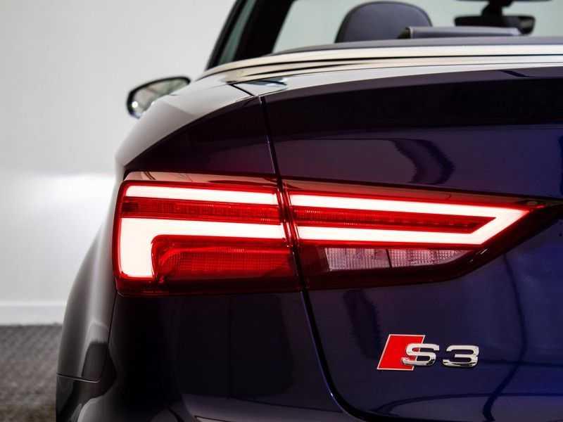 Audi A3 Cabriolet 2.0 TFSI S3 quattro Pro Line Plus   B&O Sound   Massagestoelen   LED   Virtual cockpit   Nekverwarming   afbeelding 19