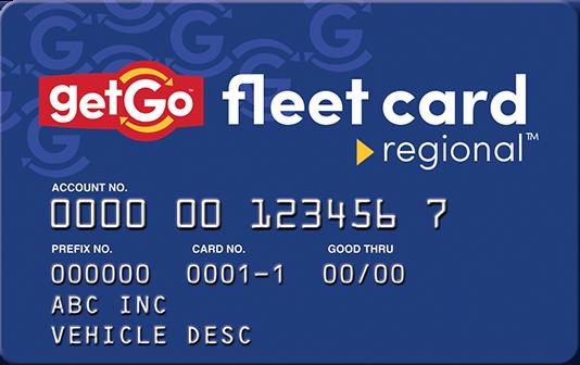 Getfleet card