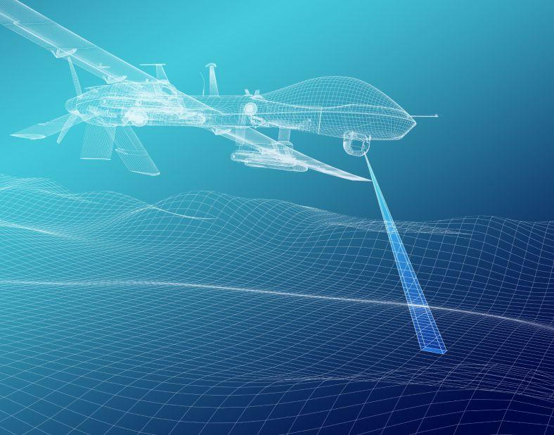 Scan using quantum sensing