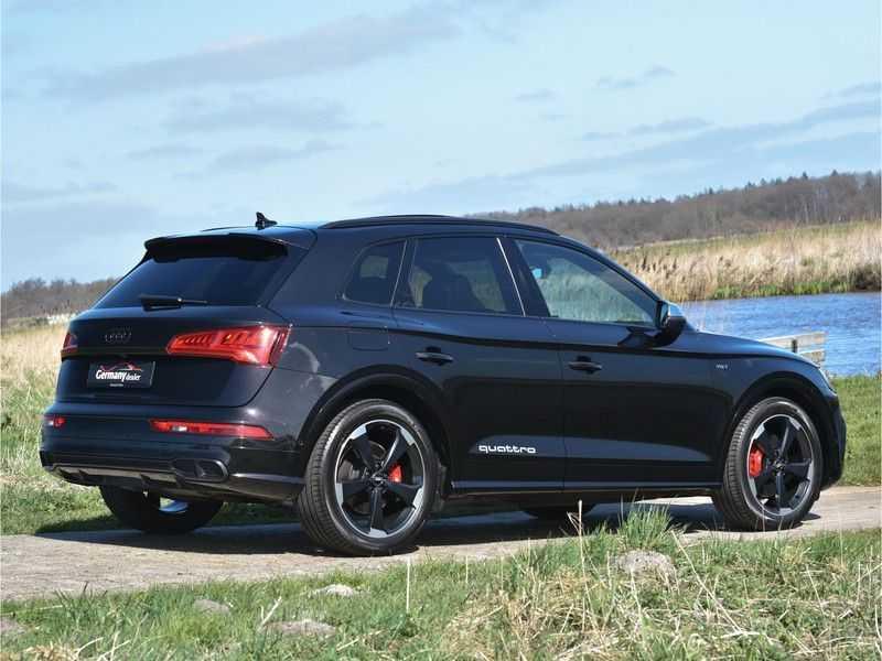 Audi SQ5 3.0TFSI 354pk Quattro Black Optic Alle Opties! Individual Lucht Tr.Haak Standk Ruitleder 360Cam afbeelding 22
