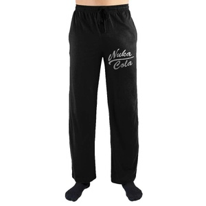Fallout Nuka Cola Logo Print Mens Loungewear Lounge Pants