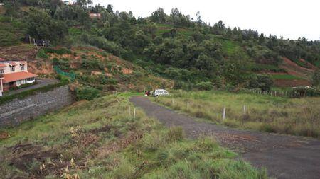 Road between two plots