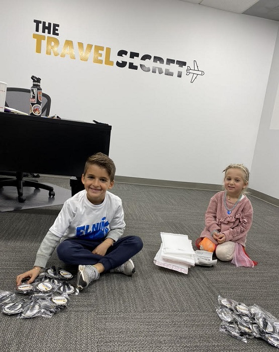 The Travel Secret Kids of David