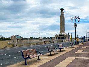 Landscape Image from Southsea with Attraction Building
