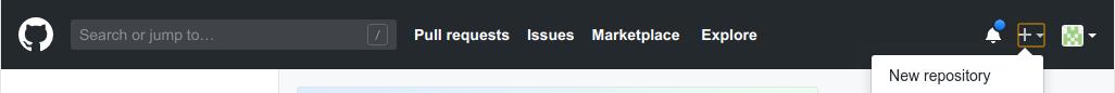 GitHub create a new repo