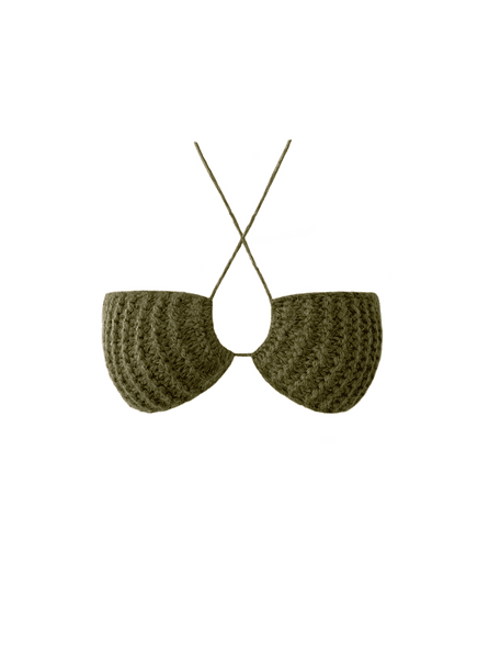 Knitted Bralette Top