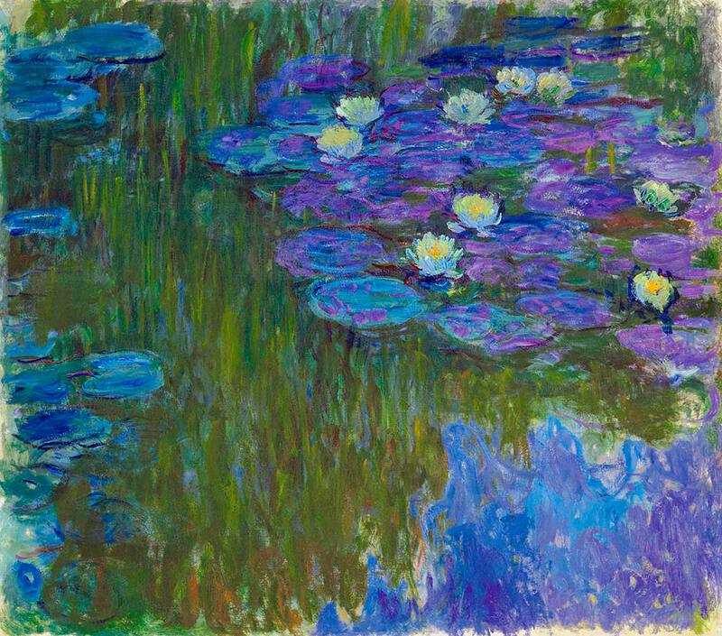 Claude Monet's Water Lilies in Bloom recently fetched $84 million.