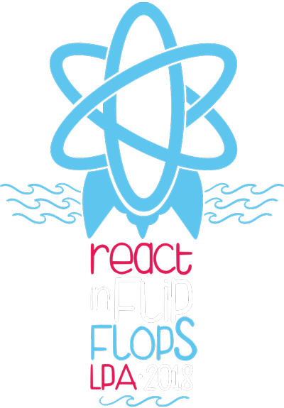 React in Flip Flops logo
