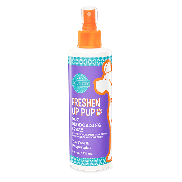 Tea Tree & Peppermint Freshen Up Pup Dog Deodorizing Spray