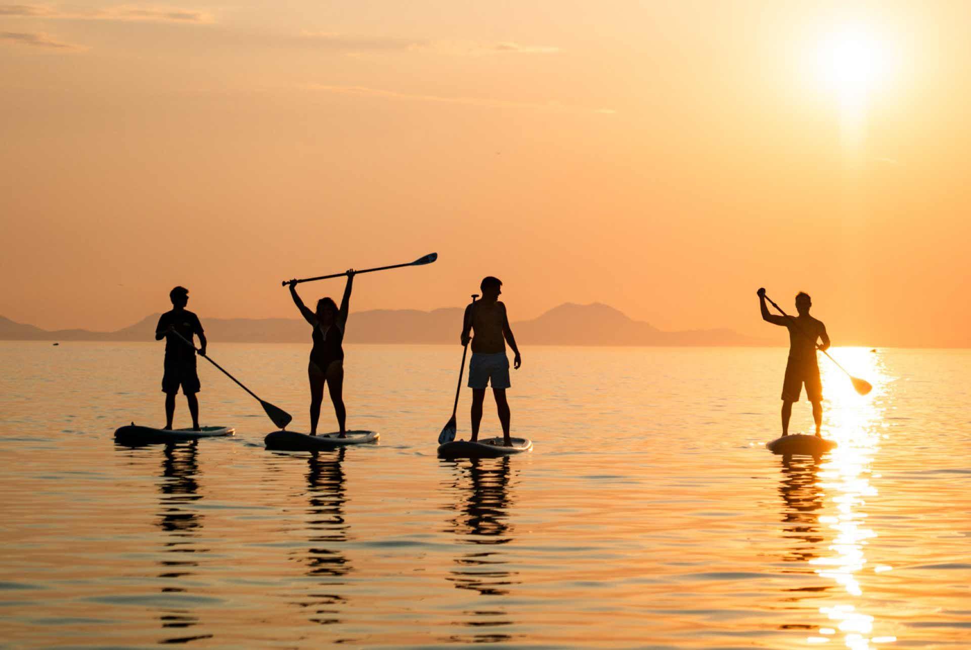 Paddleboarding Italy