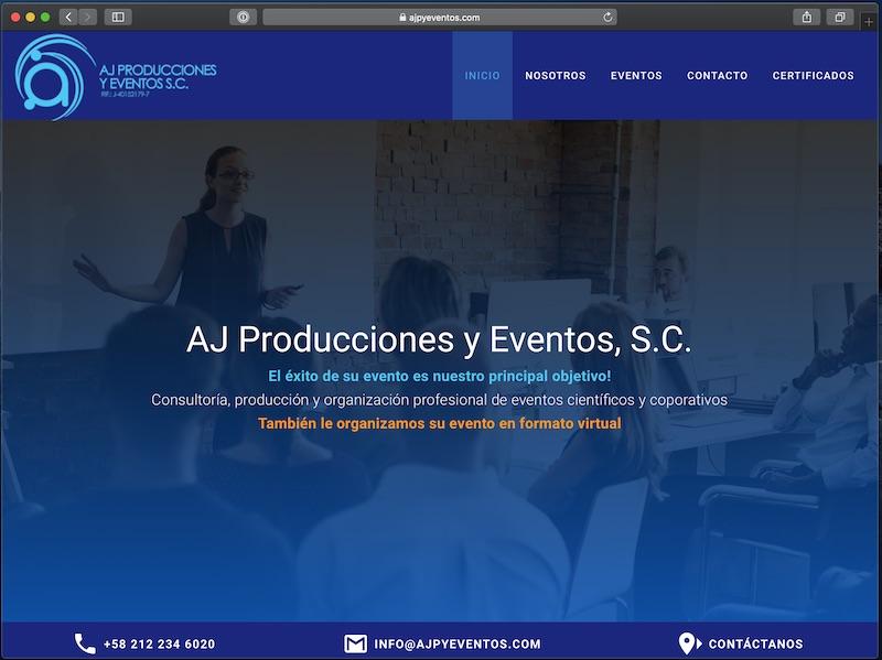 ajpyeventos.com