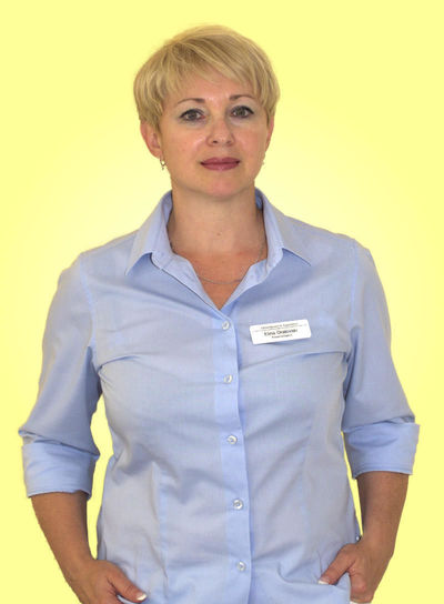 Praxismanagerin und Rezeptionistin Elina Oratovski