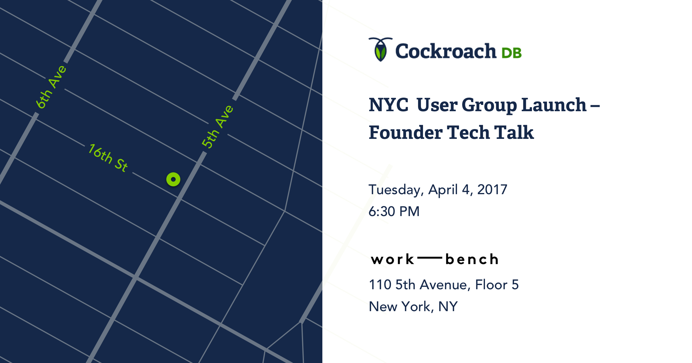 Announcing the First CockroachDB User Groups in NYC and SF