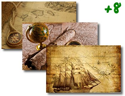 Old Earth Map theme pack