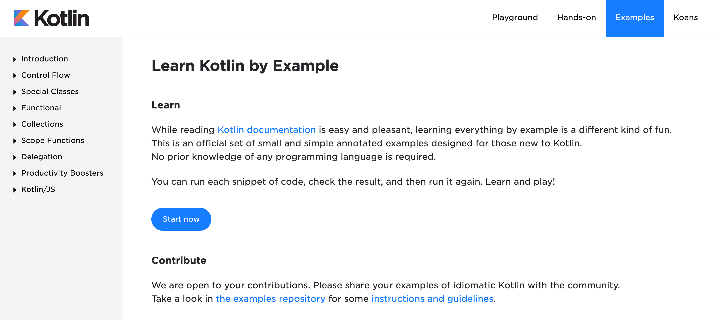 Learn Kotlin by Example
