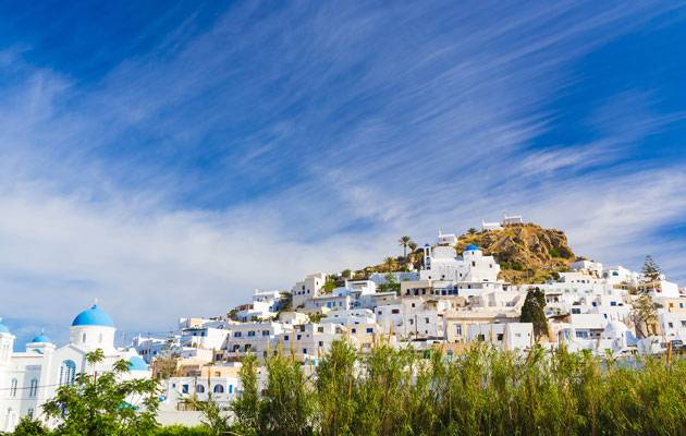 Spectacular volcanic landscapes when you sail the Greek islands