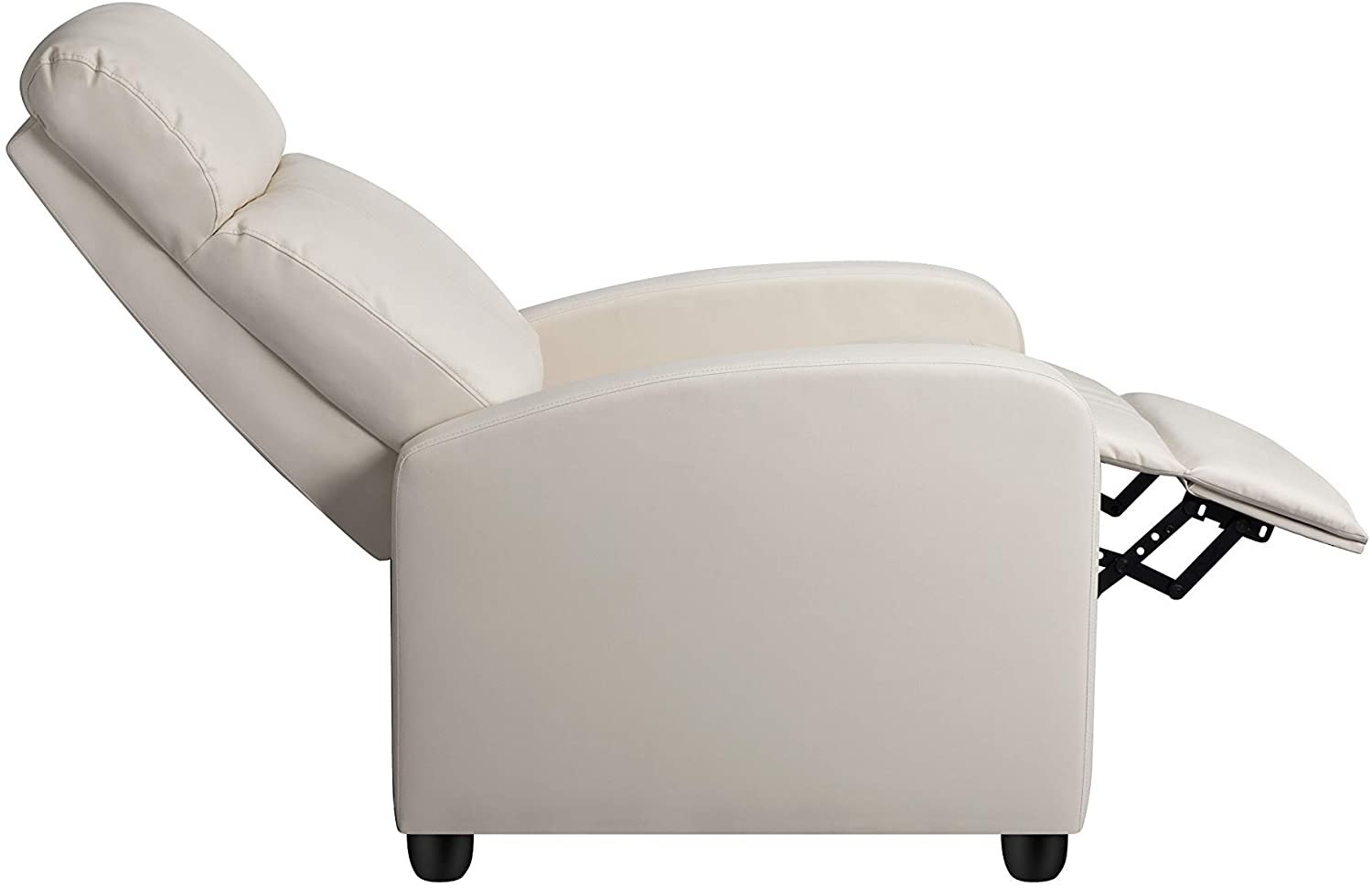 YAHEETECH Recliner Chair Faux Leather Recliner Sofa
