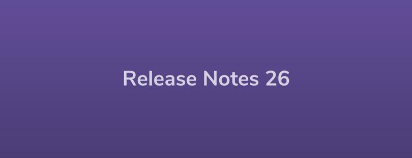 Esper Release Notes — DevRel 26