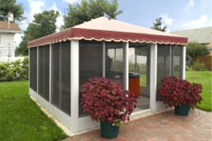 Rectangular Patio Rooms