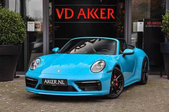 Porsche 911 S CABRIOLET 4WSTURING+PDCC+SPORTDESIGN NP.233k