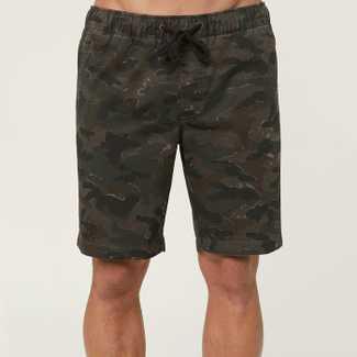 O'Neill Camo Elastic waist Short