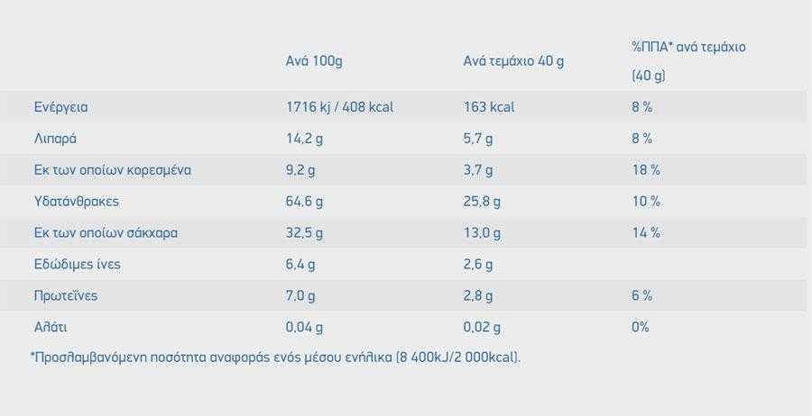 Barretta di avena biologica con cioccolato fondente e arancia - 40gr - Grecian Living