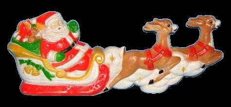 Santa Sled Set photo