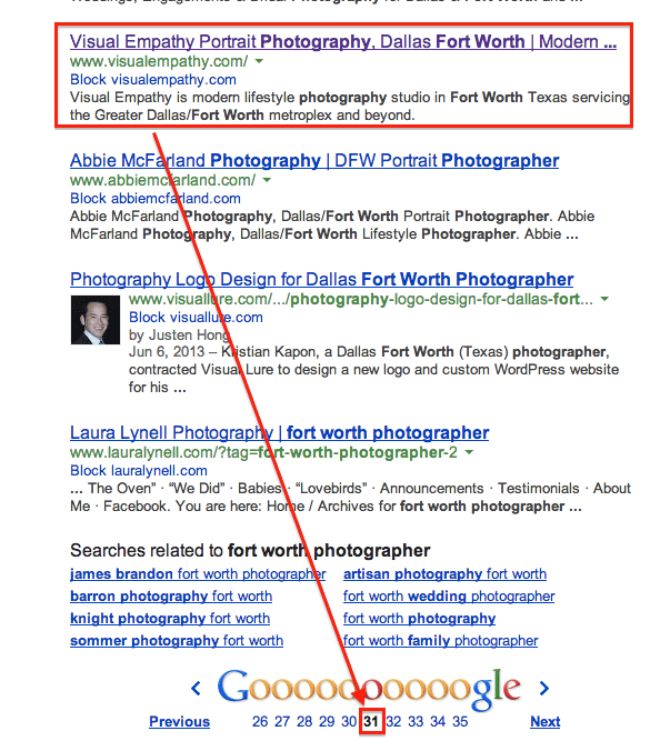 No SEO for this website, that much is obvious