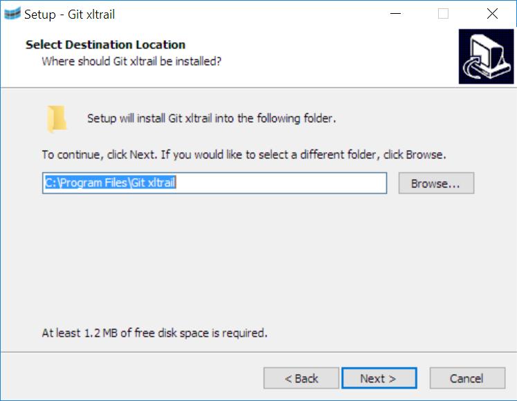 Git xltrail installer