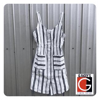 Lined Linen Cotton Dress