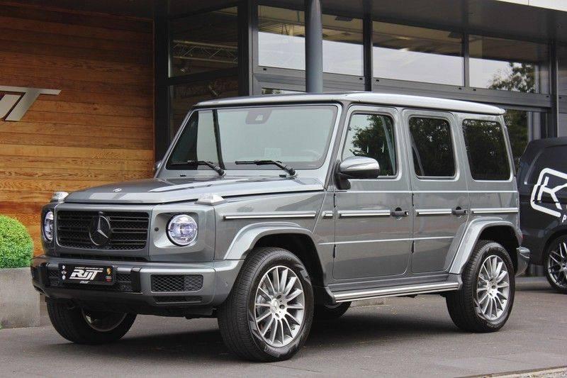 Mercedes-Benz G-Klasse 500 4.0 V8 422pk **360/Distronic/Schuifdak/Trekhaak/DAB** afbeelding 3