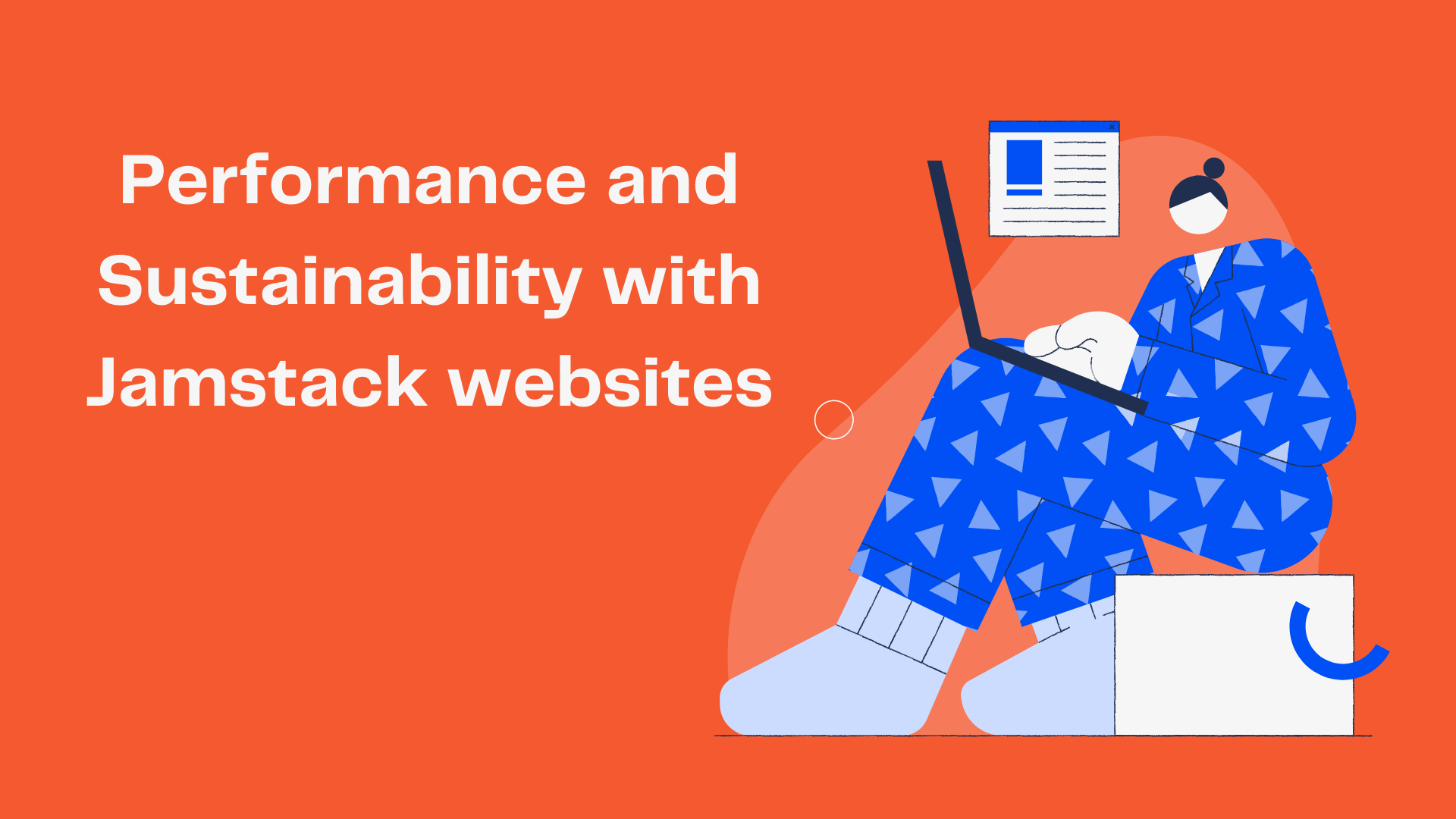 Performance and Sustainability with Jamstack websites