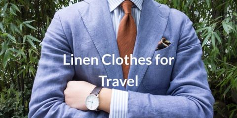 Linen clothes are cool and fresh in hot weather and is the go-to fabric for smart casual blazer and trousers when wool is too hot and cotton too casual.