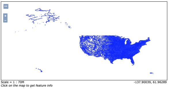 GeoServer U.S. National Atlas preview