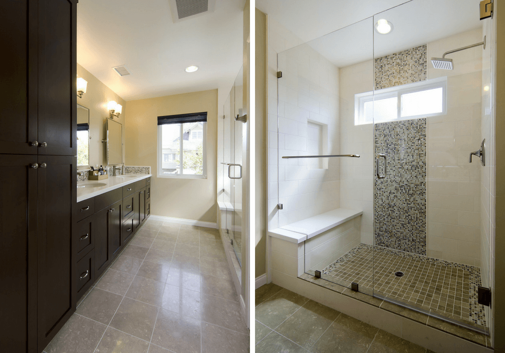 image of bathroom remodel in Pacific Beach, CA