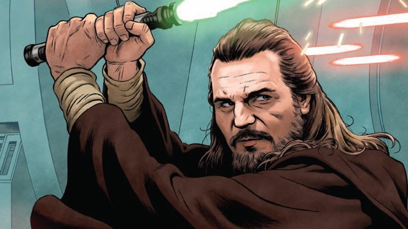 Thumbnail for The Galaxy in Comics: 'Age of Republic – Qui-Gon Jinn' and the Nature of a Jedi