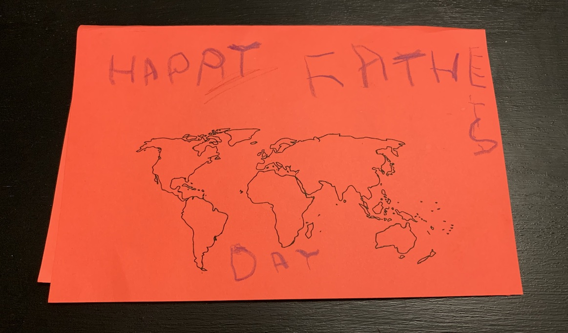 Elyse Father's Day card