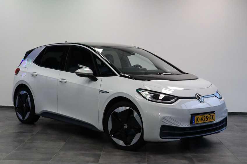 """Volkswagen ID.3 First Max 8% Bijtelling 20""""LM Panorama Massagestoelen"""