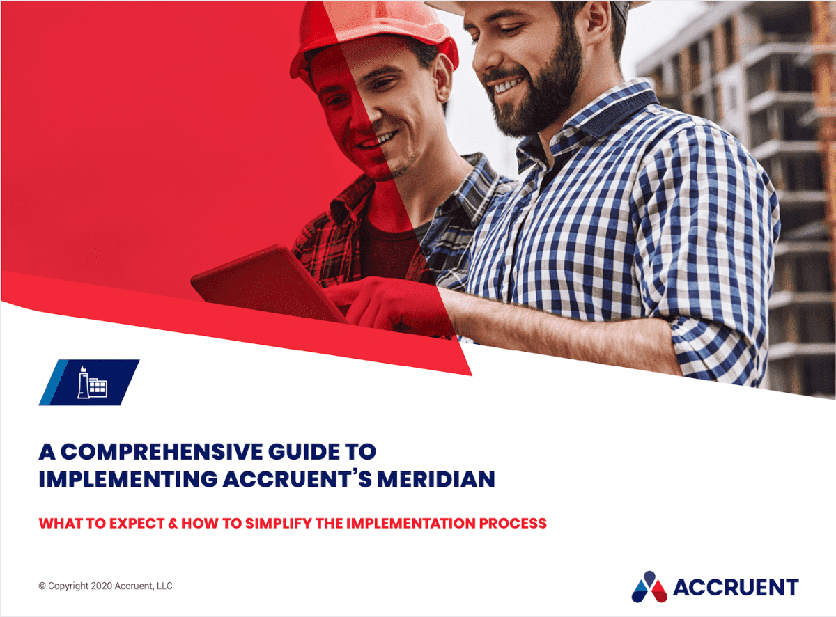 Whitepaper: Comprehensive Guide to Implementing Accruent's Meridian - Main