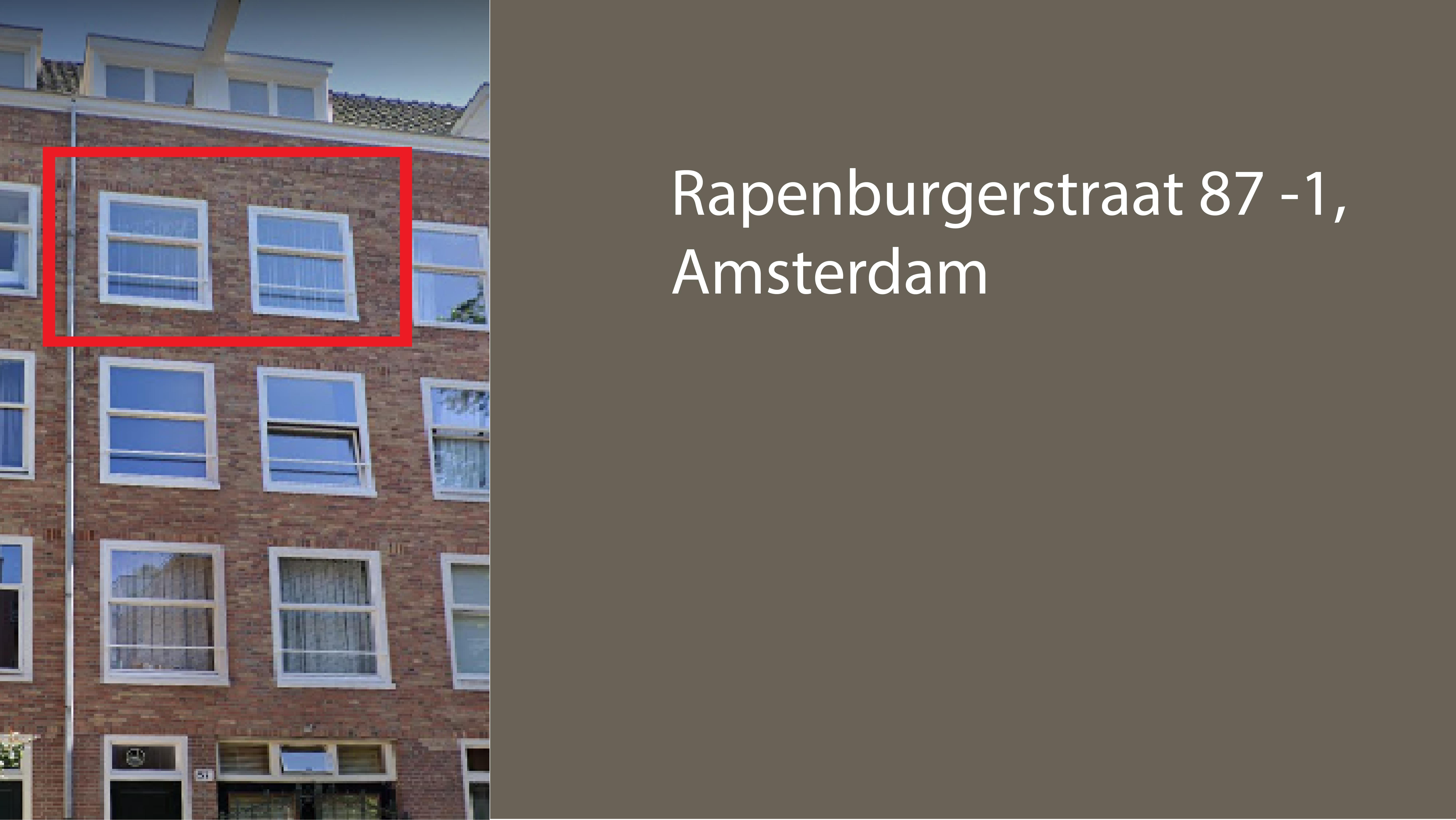 Rapenburgstraat 87 3