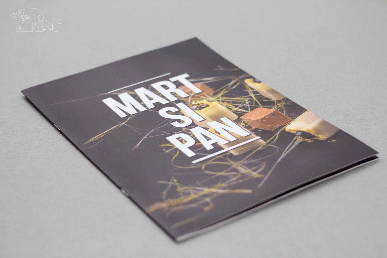 Brošiūrų gamybos pavyzdžiai