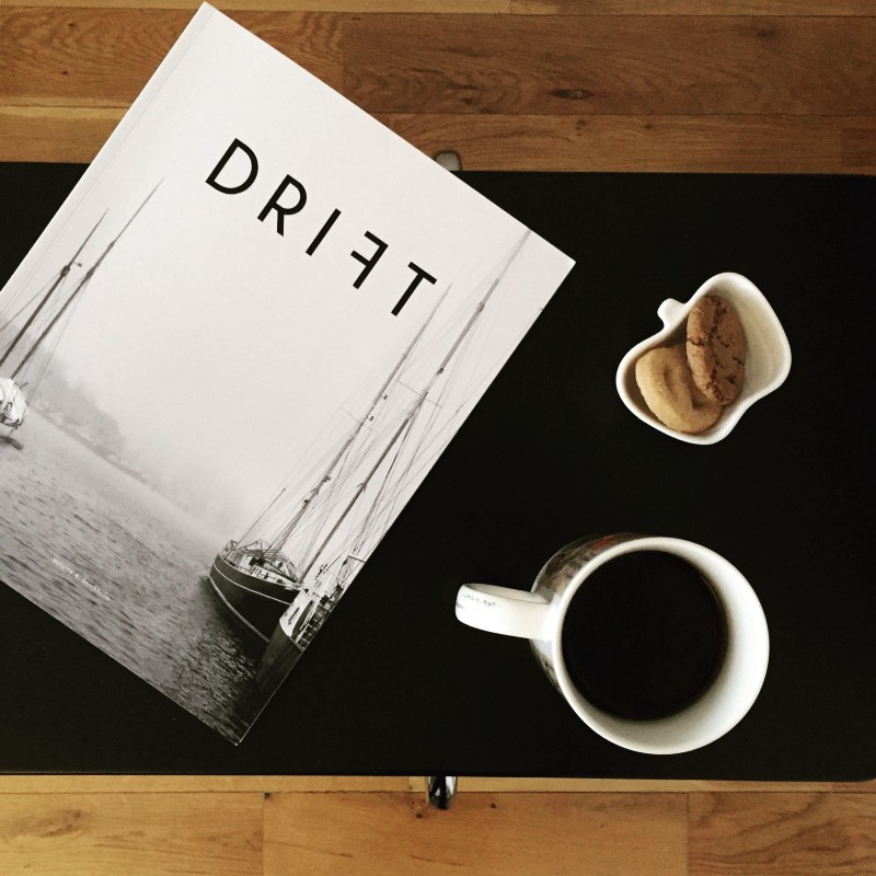 A magazine about coffee: Drift