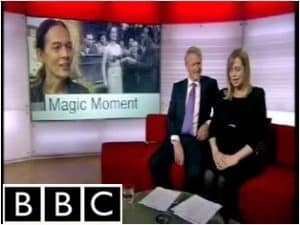 BBC TV interview with palmist Gary Markwick