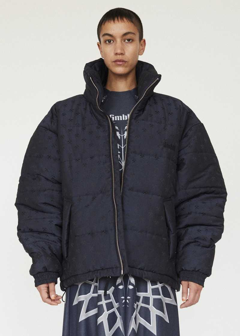 GmbH AW19 DEBS PUFFER JACKET NAVY PREVIEW